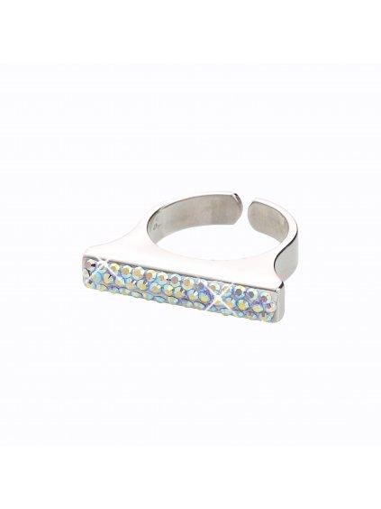 J92700102AB Stříbrný prsten Swarovski® components XIX.