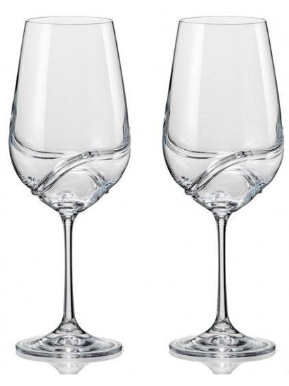 Sklenice na víno Turbulence 550ml 2ks