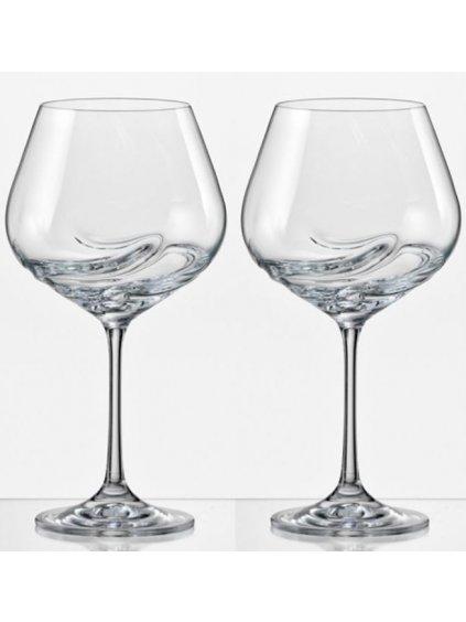 Sklenice na víno Turbulence 570ml 2ks