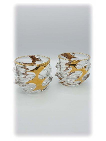 3535 sklenice zlacene calypso