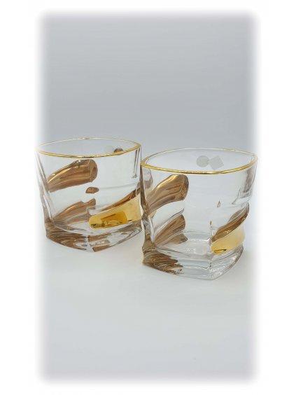 3648 sklenice zlacene sail