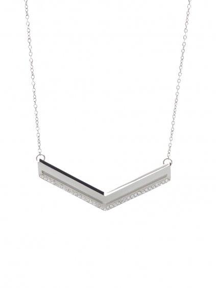 61300458cr Náhrdelník Arrow s kameny Swarovski® Crystal