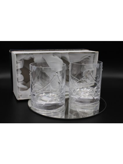 3660 Sklenice na whiskey s Swarovski kamínky