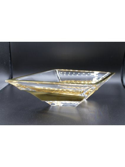 3687 sklenena misa zlacena sail 200mm