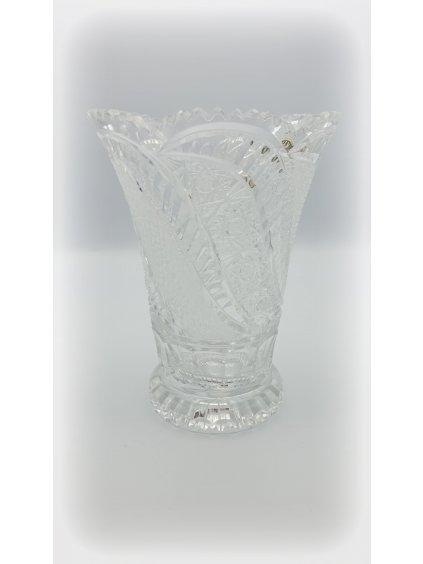Křišťálová váza brus 40028