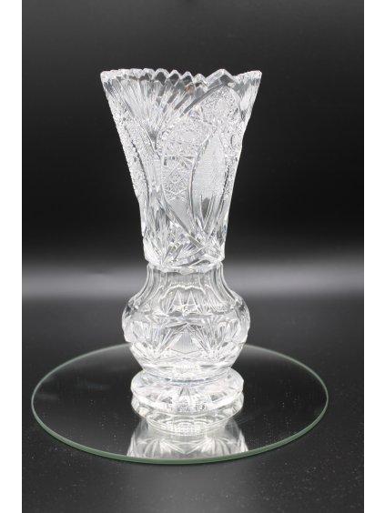 3732 kristalova vaza brus 21cm