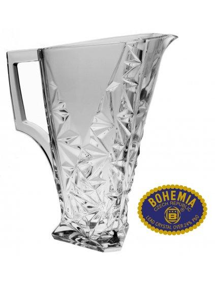 Skleněný džbán - křišťálové sklo Bohemia Crystal