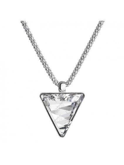 Náhrdelník Trojúhelník s kameny Swarovski® Crystal