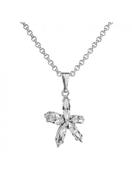 Náhrdelník Hvězda s kameny Swarovski® Crystal