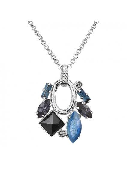 Náhrdelník Luxury Navety s kameny Swarovski® Montana