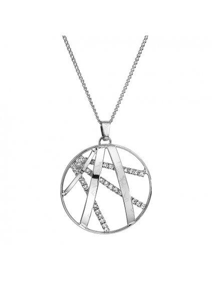 Náhrdelník Ornament velký s kameny Swarovski® Crystal