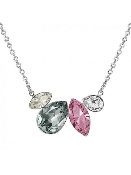Náhrdelník Navety s kameny Swarovski® Light Rose