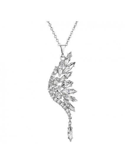 Náhrdelník Křídla anděla s kameny Swarovski® Crystal