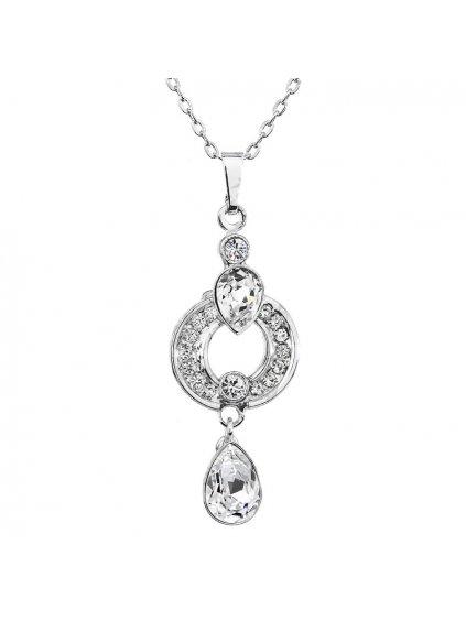 Náhrdelník Kroužek  s kameny Swarovski® Crystal