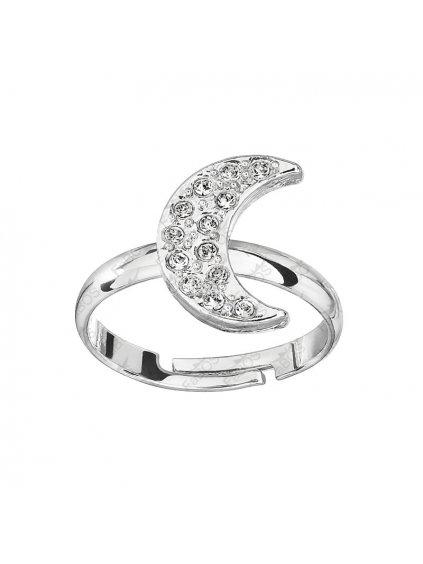 Prsten Měsíc s kameny Swarovski® Crystal