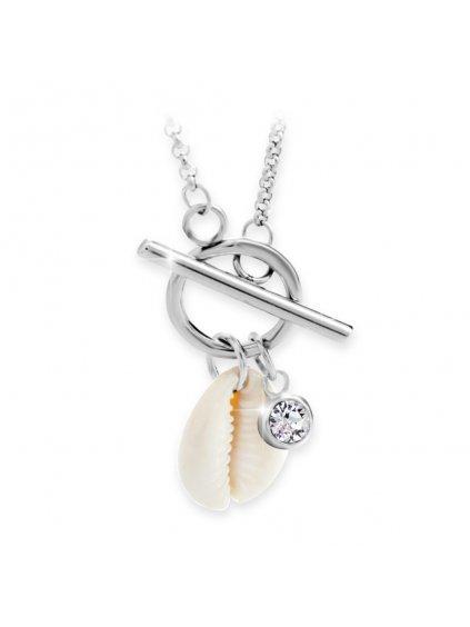 Náhrdelník Kauri mušle Swarovski® Crystal 61300730cr