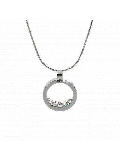 Náhrdelník kruh se Swarovski® Crystals 61300734ab