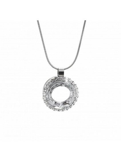 Náhrdelník Donut Swarovski® Crystal 61300735cr