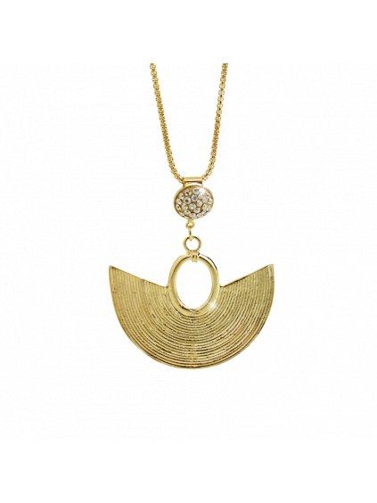 Náhrdelník Amfiteátr Swarovski® Golden Shadow Gold 61300738g gsh