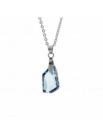 Náhrdelník Krystal Swarovski® Aquamarine 61300751aq