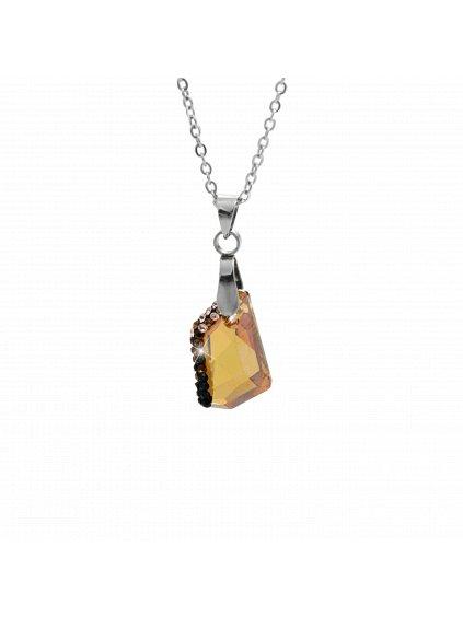 Náhrdelník Krystal Swarovski® Amethyst Copper 61300751coop