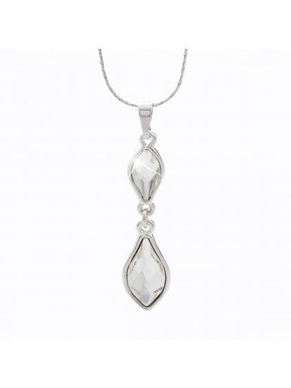 Náhrdelník Flame s kameny Swarovski® Crystal