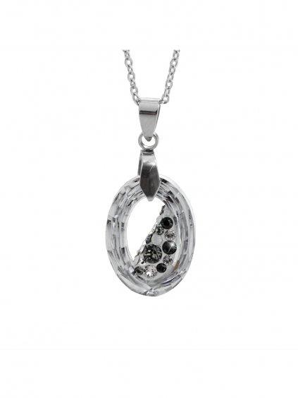 Náhrdelník Óčko Swarovski® Crystal Cal 22 mm 61300756cal