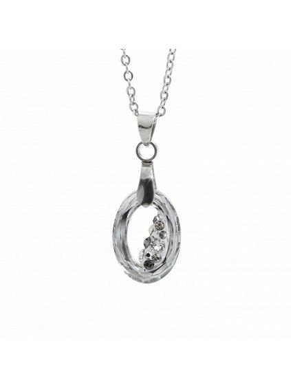 Náhrdelník Óčko Swarovski® Crystal Cal 15 mm 61300758cal