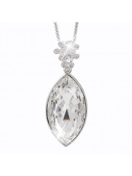 Náhrdelník Naveta s kameny Swarovski® Crystal