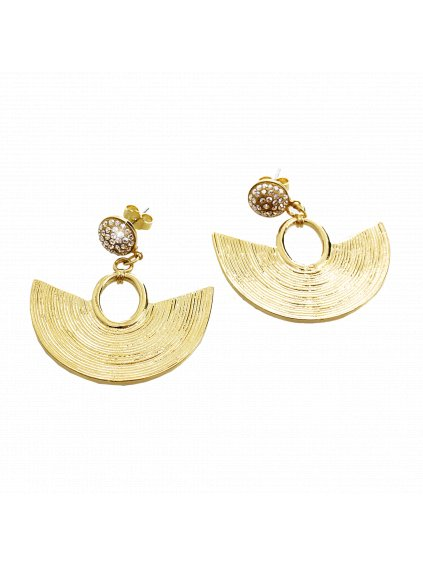 Náušnice  Amfiteátr Swarovski® Crystals Gold 61400738g gsh