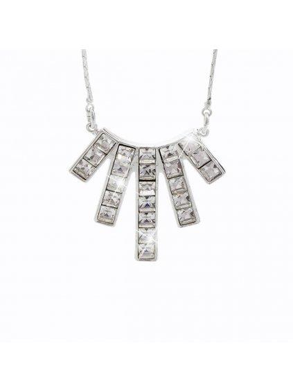 Náhrdelník Paprsky s kameny Swarovski® Crystal
