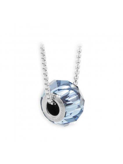 Náhrdelník Becharmed s kameny Swarovski® Aquamarine