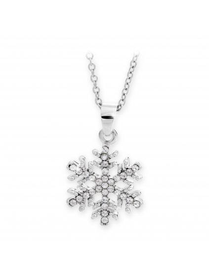 Náhrdelník Sněžná vločka Swarovki® Crystal 61300692cr