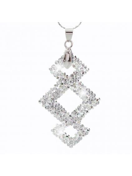 Náhrdelník Triplekos s kameny Swarovski® Crystal
