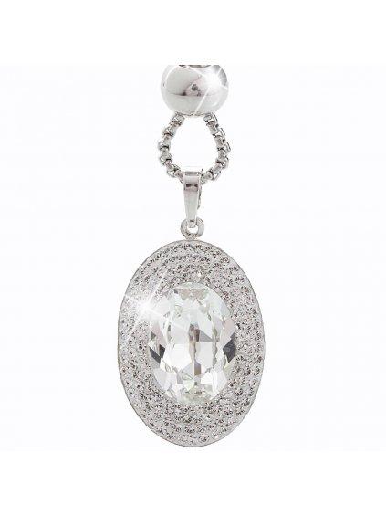 Náhrdelník Ovál s kameny Swarovski® Crystal
