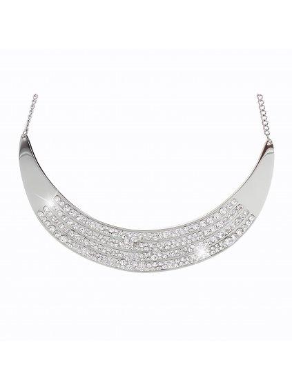 Ocelový náhrdelník Arc Swarovski® Crystal 61300545cr