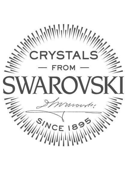 Náhrdelník Ovál s hvězdicí s kameny Swarovski® Peridot