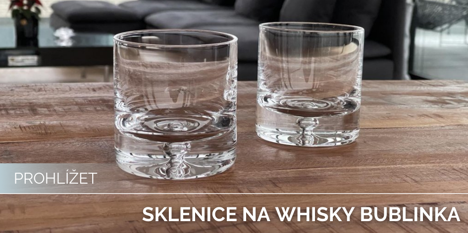 Sklenice na Whisky Bubble