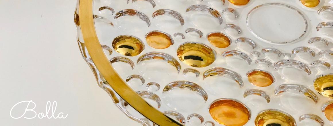 Zlatý Bolla talíř