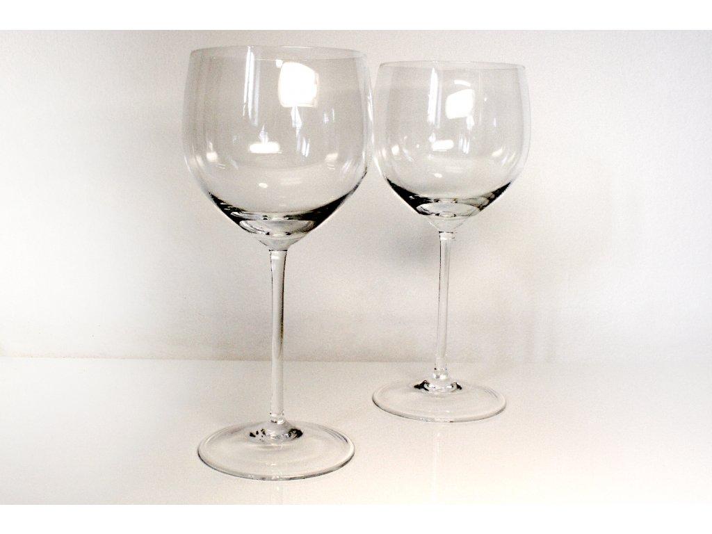 Ruční sklenice na červené víno
