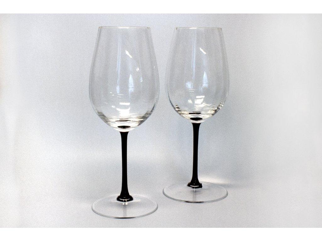Sklenice na víno Dark leg