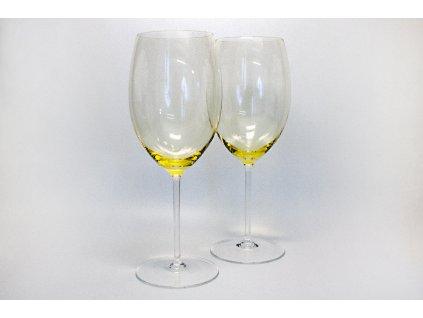 Sklenice na víno Yellow
