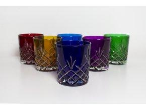 Rainbow sklenice na whisky