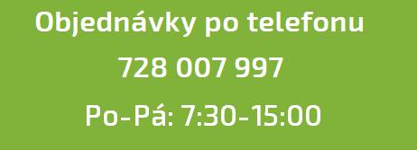 Objednávky po telefonu
