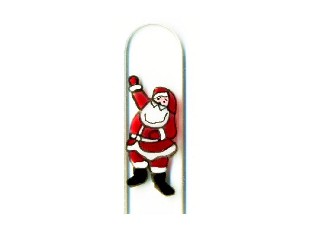 Skleněné pilníky - vánoční motivy