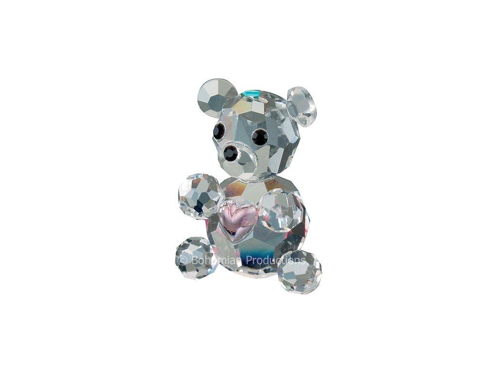 Skleněné figurky Medvídci