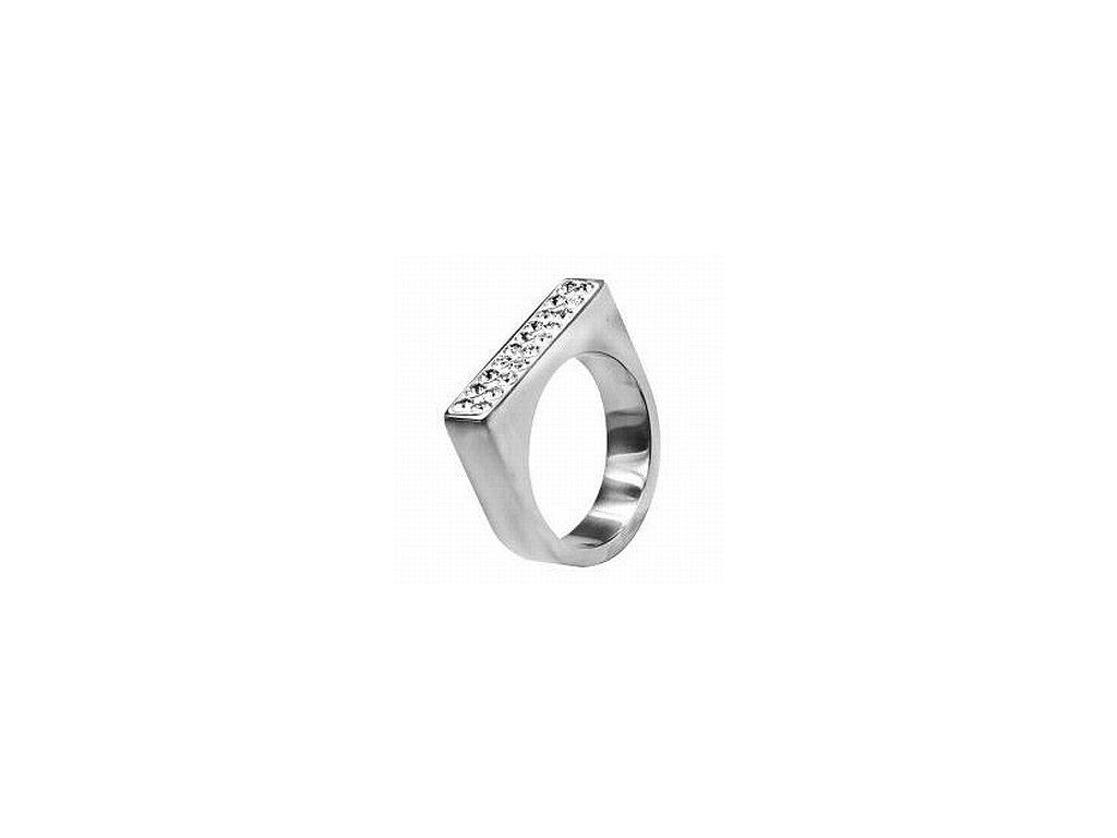 Ocelové prsteny se Swarovski