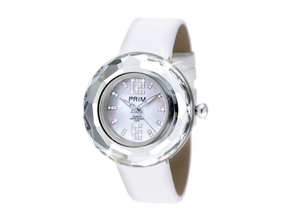 Dámské hodinky Crystal Time Premium v křišťálové barvě Preciosa