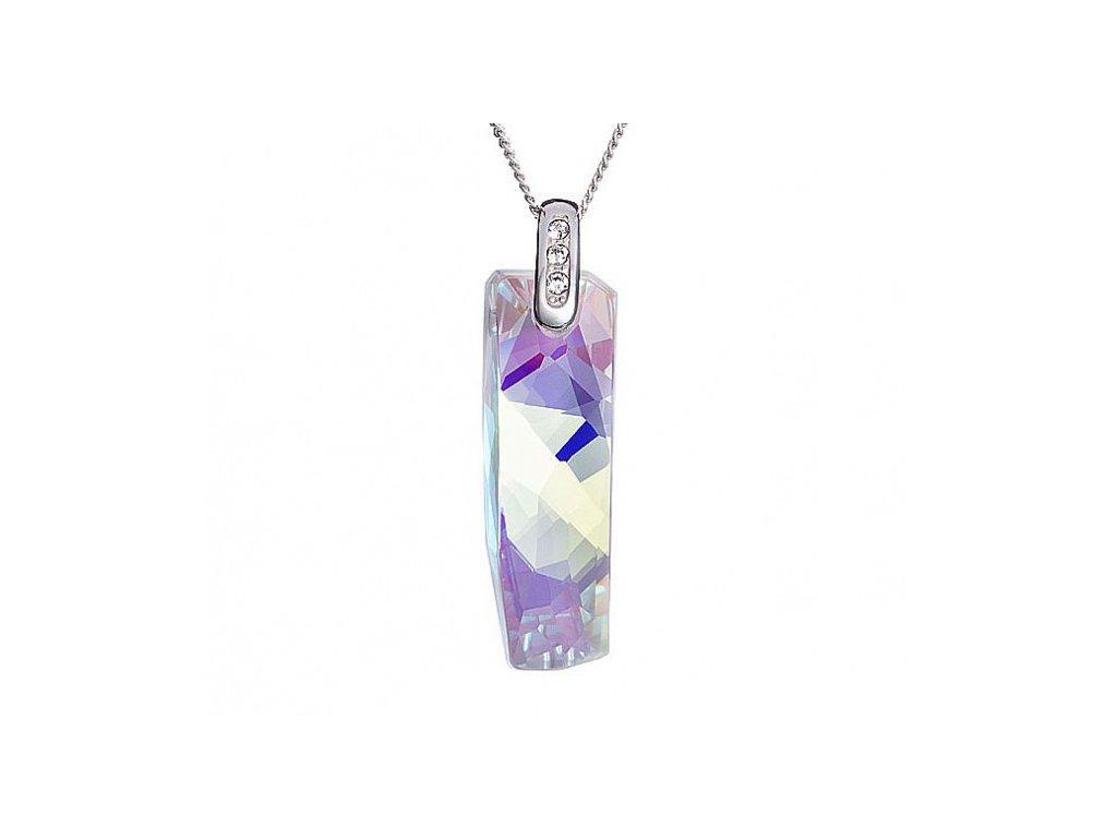 Přívěsek z broušeného skla Melody of Nature v barvě duhy Crystal AB od firmy Preciosa