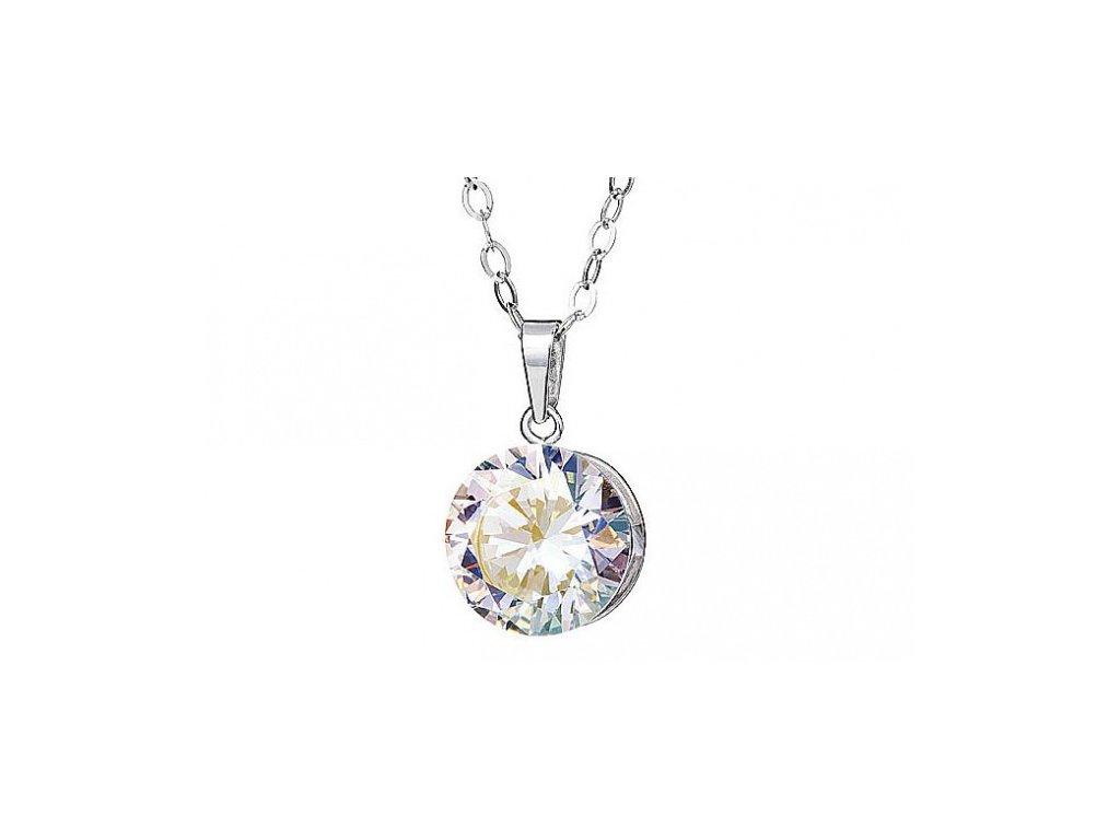 Přívěsek z broušeného skla Starry v barvě duhy Crystal AB od firmy Preciosa